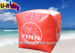 PVC Air Sealed Inflatable Life Buoy Gold Color pictures & photos