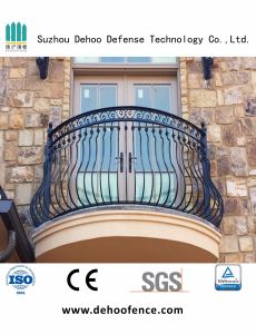 High Quality Wrought Zinc Steel Balcony Fence for House pictures & photos