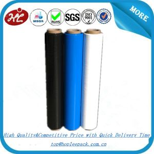 China 20 Micron Blue PE Stretch Film Factory pictures & photos