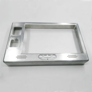 Customized High Precise CNC Machining Anodized Aluminum Frame for Fingerprint Lock pictures & photos