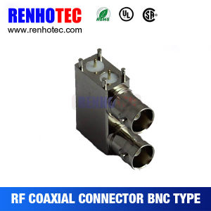3G SDI PCB End Launch Receptacle RF Coaxial BNC Connector pictures & photos