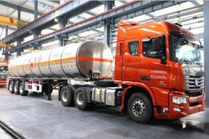 42 Cbm Fuel Semi Trailer Liquid Tank pictures & photos