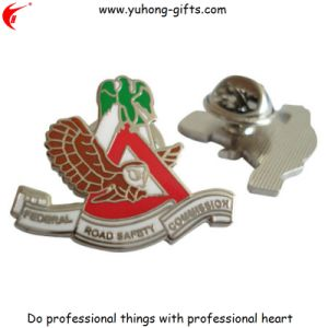 Metal Badge Back with Butterfly Clutch for Promotion (YH-MP016) pictures & photos