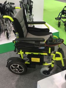 High Quality Aluminium Electric Wheelchair pictures & photos