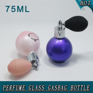 75ml Round Ball Perfume Gasbag Spray Glass Bottle pictures & photos