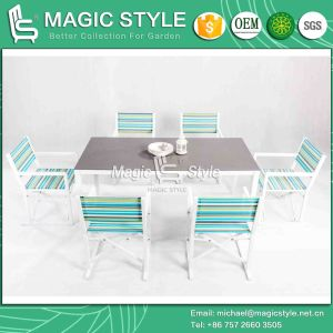 Folding Chair with Colorful Textile for Outdoor Sling Dining Chair Colorful Dining Chair Outdoor Dining Set Garden Dining Chair (MAGIC STYLE) pictures & photos