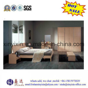 Customized Wooden Furniture Modern Bedroom Set (SH035#) pictures & photos