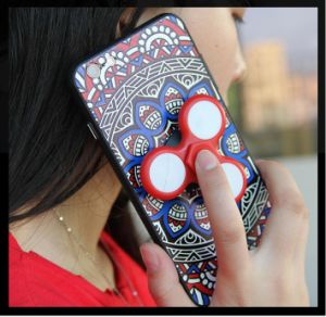 Fingertip Top Gyroscope TPU Mobile Phone Case for iPhone pictures & photos