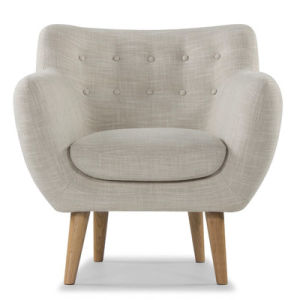 Classic Design Modern Furniture Fabric Wood Retro Chair pictures & photos