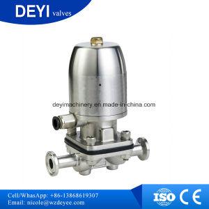 Dn80 Hygienic Food Grade SUS316L Pneumatic Diaphragm Valves pictures & photos