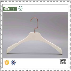 Cheap Plastic Clothes Hanger Wedding Dress Hanger with Logo pictures & photos