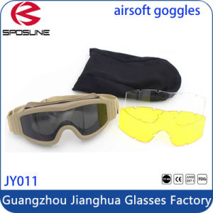 Detachable Lens 2.8mm Anti Dust Bulletproof Conflict Army Military Goggles pictures & photos