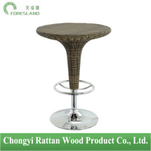 PE Rattan Weaving Bar Table PT-06 pictures & photos