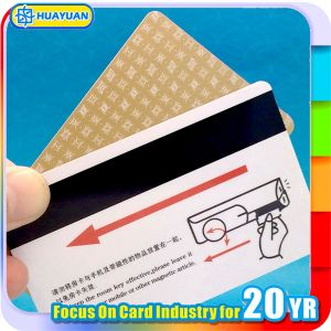 CYMK printing PVC Hico2750 magnetic strip hotel key card pictures & photos