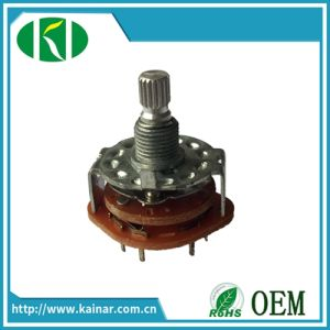Precision Rotary Route Switch RS22 pictures & photos