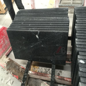 New Black Granite with Special Veins Named China Via Lattea pictures & photos