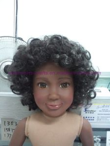"Customized 18"" American Girl Doll Dark Skin Doll Vinyl Doll Sculpture Doll Prototype Doll Production pictures & photos"