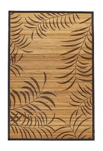 Handmade Stained Bamboo Rug with Beautiful Pattern pictures & photos