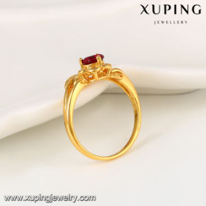 11098 Fashion Jewelry 24k Gold CZ Women′s Ring in Special Promotion pictures & photos