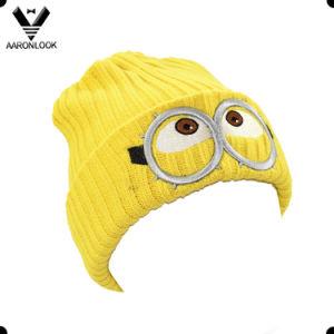 Winter Lovely Cartoon Children Embroidery Hat