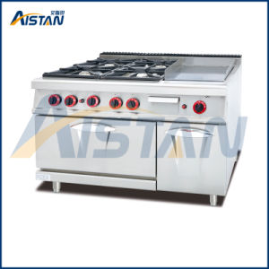 Gh796A 4-Burner with Griddle with Gas Oven pictures & photos