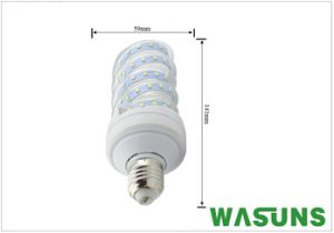 12W Glass Cover SMD2835 T4 LED Corn Bulb E27 pictures & photos