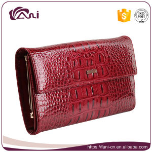 Fashion Women Lady Genuine Leather Wallet with Coin Pocket pictures & photos