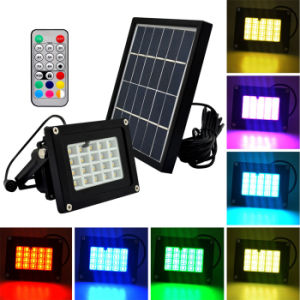 Remote Control Color Changing Solar Light Outdoor Garden Lawn Landscape Yard Decorative Lighting pictures & photos