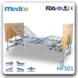 Five Functions Electric Folding Home Care Bed pictures & photos