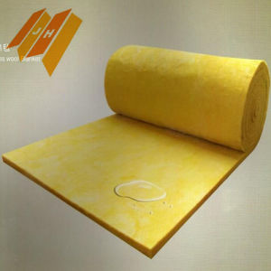 Glass Wool Batts Roll Blanket for Roofing Building Materials pictures & photos