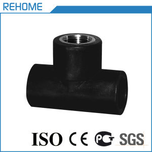 32mm Pn10 HDPE Pipe Fitting for Water Supply Female Tee pictures & photos