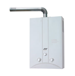 Forced Exhaust Gas Water Heater with High Quality Fan