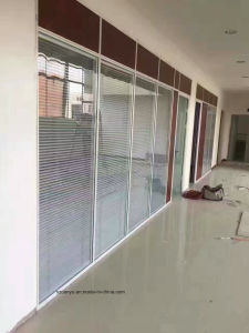 Customized Office Morden Style Glass Partition Wall pictures & photos