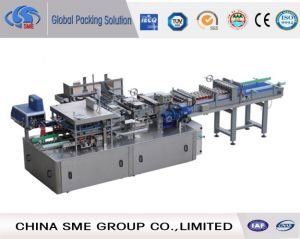 Automatic Middle Speed Carton Wrapping Machine (MG-XB35) pictures & photos