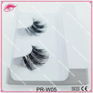 Handmade Human Hair Eyelash Fake Eyelashes Wholesale Supplier pictures & photos
