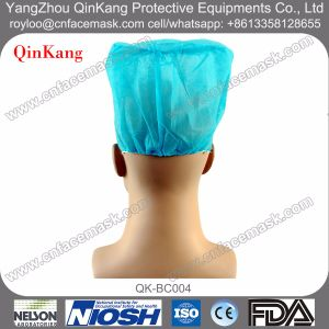 Medical Products Disposable Surgical Doctor Cap with Elastic pictures & photos