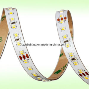 12V/24V 60LEDs/M SMD3014 Warm White LED Light Strip pictures & photos