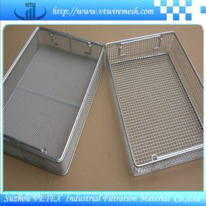 Stainless Steel Mesh Basket with Smooth Surface pictures & photos