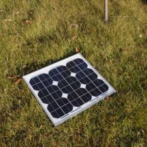 20W High Efficiency Mono Renewable Energy Saving Solar Panel pictures & photos