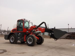New Strong Multi-Function Telescopic Wheel Loader (HQ920T) with Ce Certificate pictures & photos