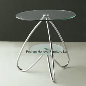 Living Room Furniture New Design Glass Coffee Table (M025) pictures & photos
