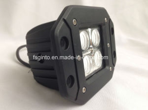 Flush Mount 16W CREE LED Work Light for Jeep (GT1022A-16W) pictures & photos