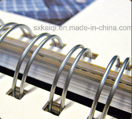 Double Loop Book Binding Metal Spiral Wire pictures & photos