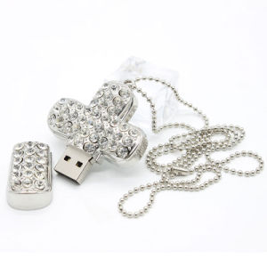 USB Flash Drive Jewelry Cross Pendrives USB Flash 2.0 Memory pictures & photos