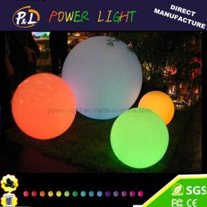 D30cm Decorative Plastic Furniture LED Pool Round Ball pictures & photos