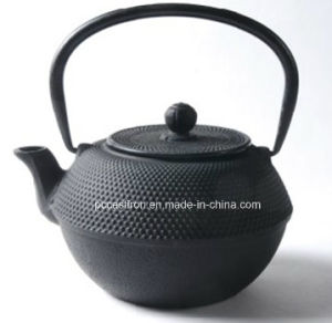 LFGB FDA Ce Approved Cast Iron Teapot Manufacturer From China pictures & photos