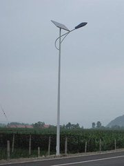 Solar Battery System Ce CCC Certification Approved Aluminium Solar Street Light