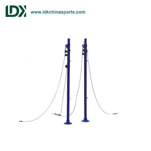 in-Ground 1.55-2.43m Height Pole for Volleyball and Badminton pictures & photos
