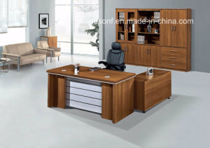 New Design China Supplier Executive Wooden Office Desk (NS-D009) pictures & photos