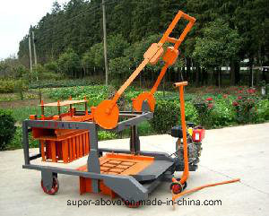 Mobile Diesel Egg Layig Block Making Machine pictures & photos